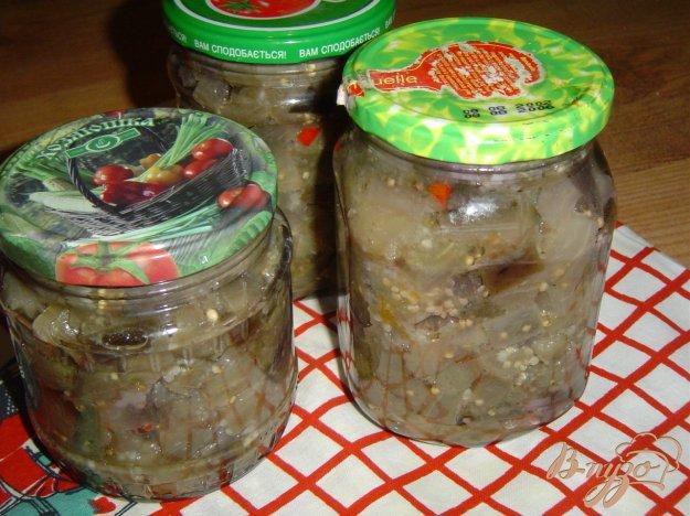 фото рецепта: Баклажаны с чесноком и горьким перцем