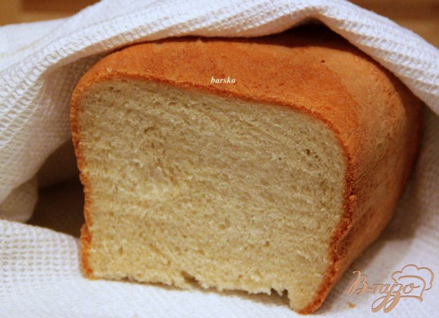 Рецепт Белый хлеб на оливковом масле