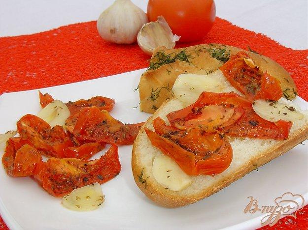 фото рецепта: Вяленые помидоры за 30 минут