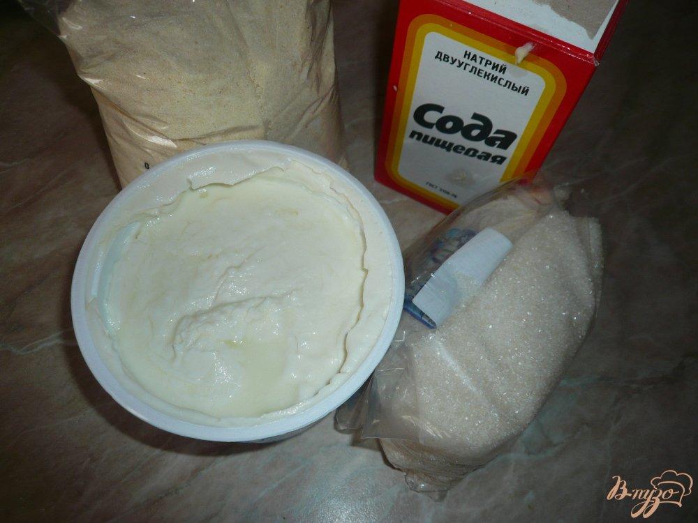 Фото приготовление рецепта: Манник с мягким творогом шаг №1
