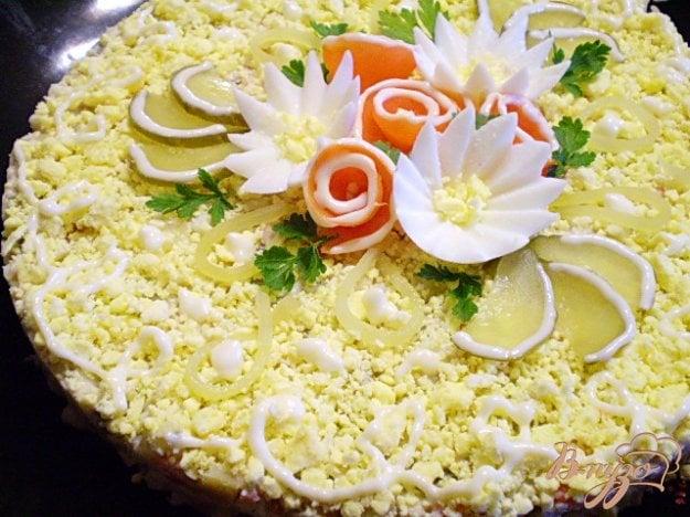 Рецепт Рыбный салат с хеком