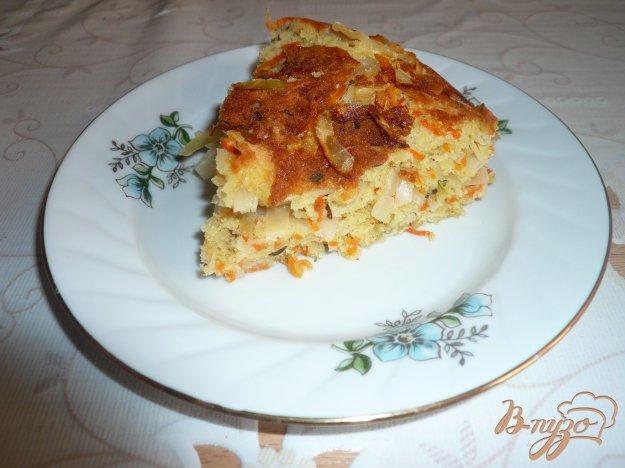Рецепт Шарлотка с квашенной капустой