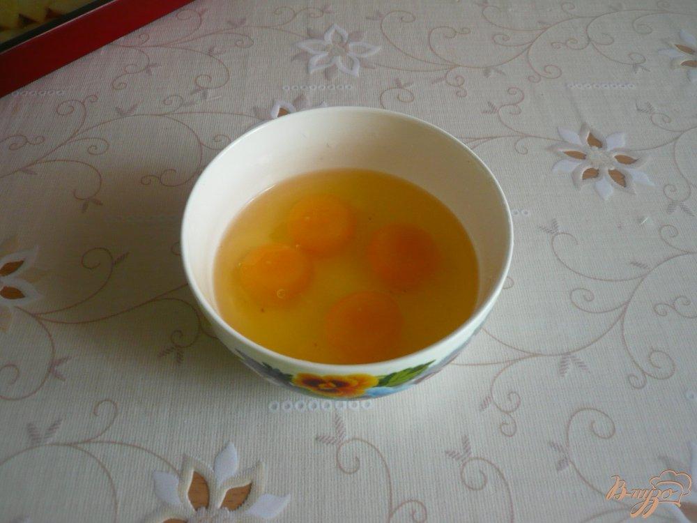 Фото приготовление рецепта: Картофельная запеканка с грибами шаг №8