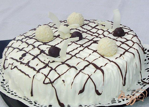 торт белая ночь рецепт с фото спиртное