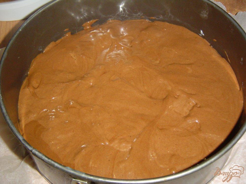Фото приготовление рецепта: Торт «Зимняя ночь» шаг №6