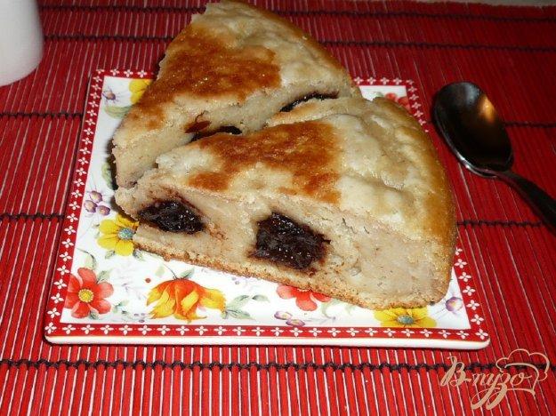фото рецепта: Овсяный пирог на кефире