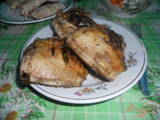 Рецепт Куриные бедра в маринаде с эстрагоном