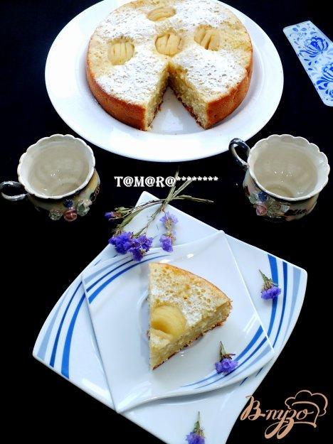 Рецепт Яблочно-кокосовый пирог из мультиварки