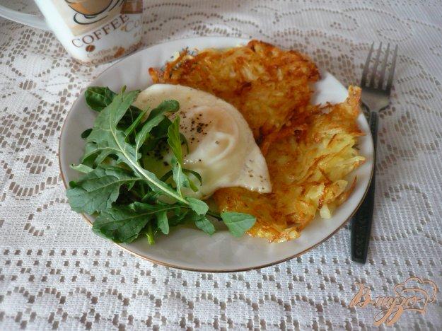 фото рецепта: Сытный завтрак для двоих