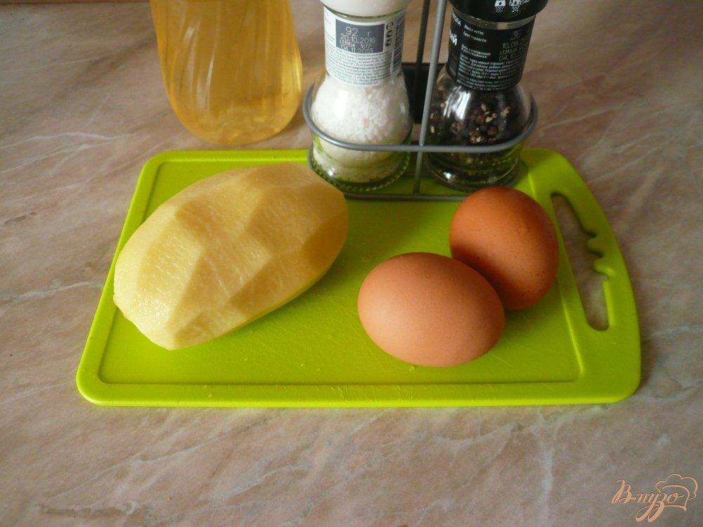 Фото приготовление рецепта: Сытный завтрак для двоих шаг №1