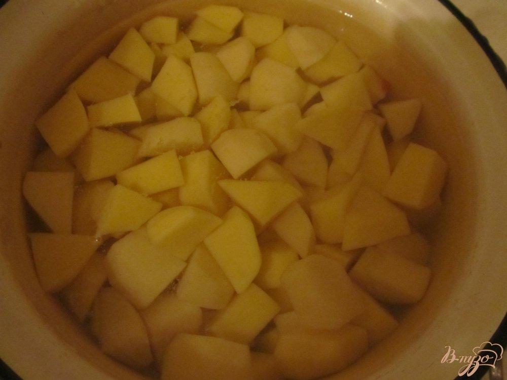 Фото приготовление рецепта: Суп харчо на подчеревке шаг №6
