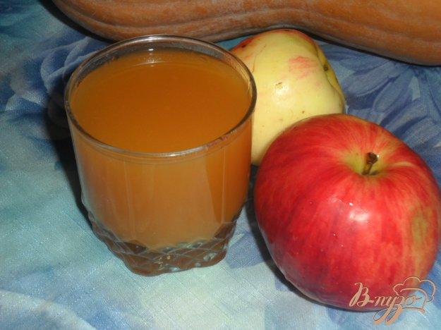 фото рецепта: Тыквенно-яблочный сок