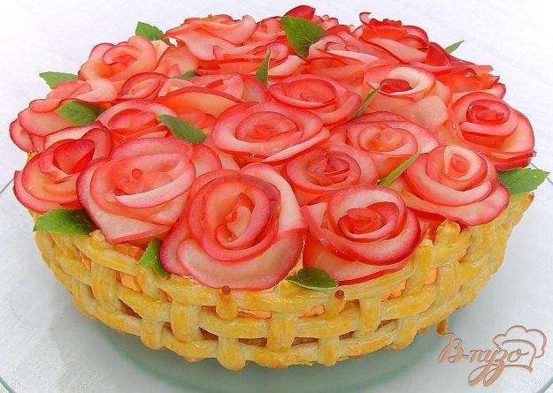 Рецепт Торт «Миллион алых роз»