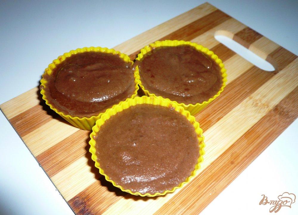 Фото приготовление рецепта: Манная каша с какао шаг №7