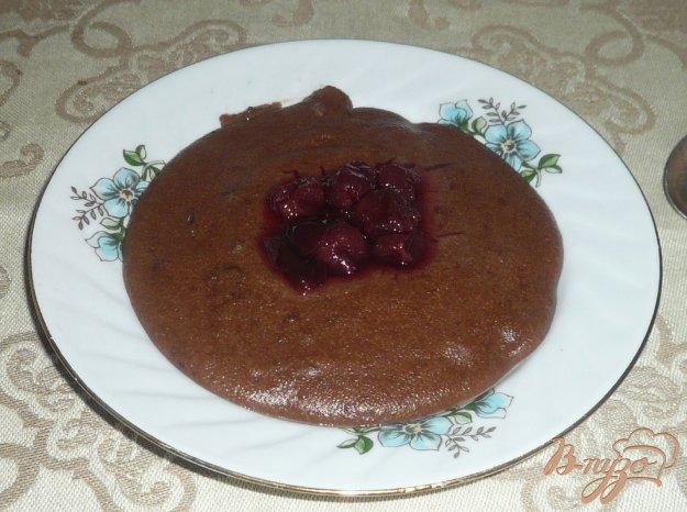 фото рецепта: Манная каша с какао