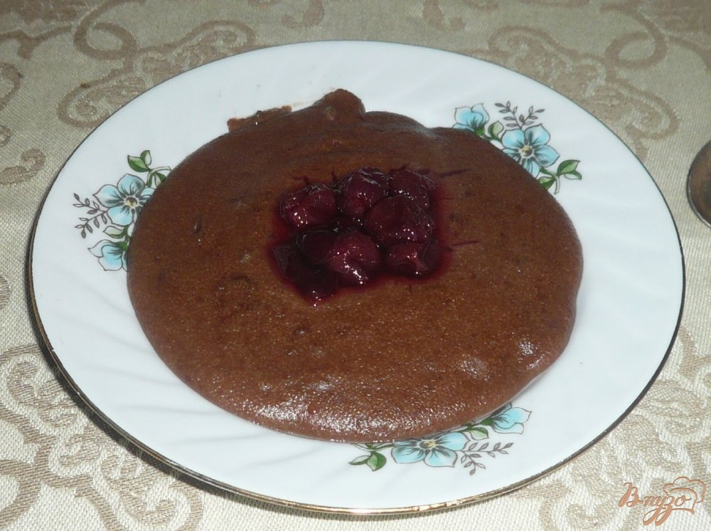 Фото приготовление рецепта: Манная каша с какао шаг №6