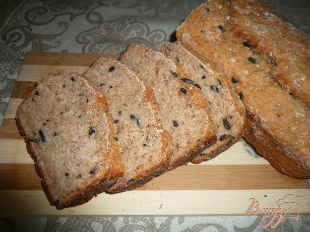 Рецепт Овсяный хлеб с маслинами