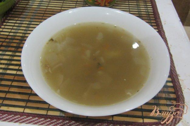 фото рецепта: Рыбный суп с манной крупой
