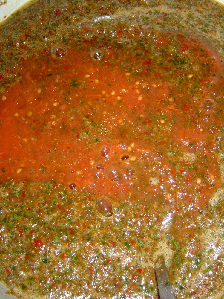 Фото приготовление рецепта: Аджика «Острячок» шаг №3