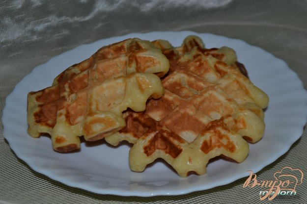 Рецепт Вафли овсяно-пшенично-рисовые с медом