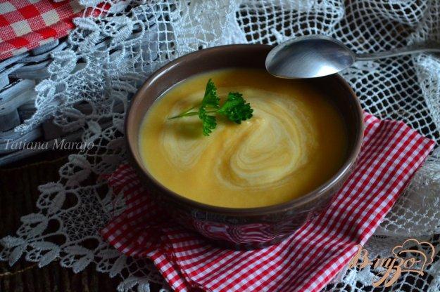фото рецепта: Суп-пюре из тыквы с корневым сельдереем