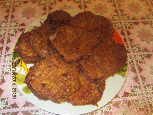 Рецепт Вафельные коржи с мясом