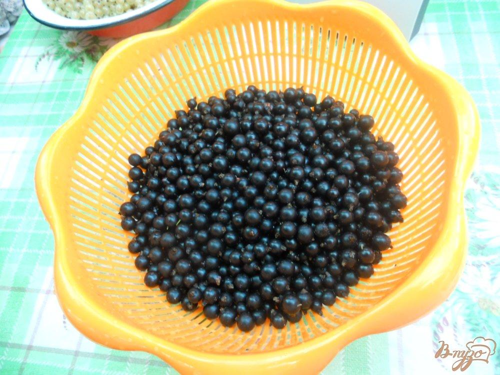 Фото приготовление рецепта: Пюре из из белой и черной смородины шаг №2