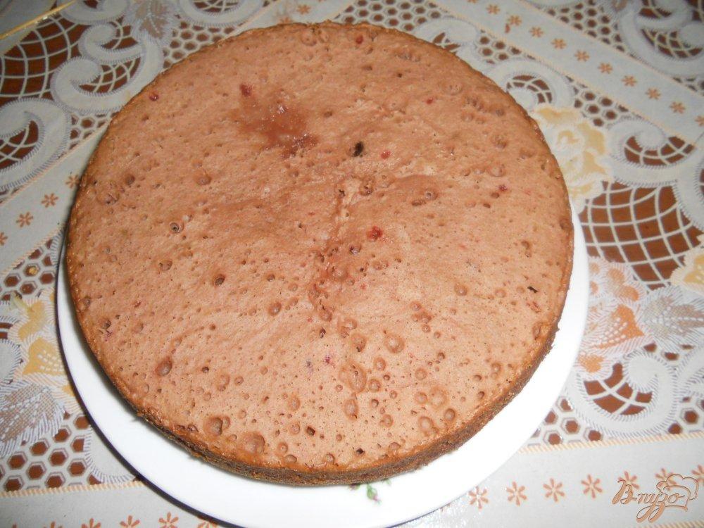 Фото приготовление рецепта: Пирог с вареньем в мультиварке шаг №11