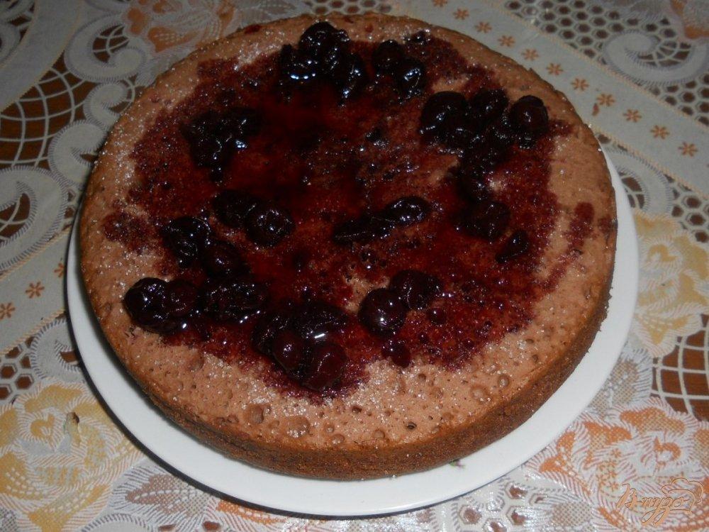 Фото приготовление рецепта: Пирог с вареньем в мультиварке шаг №12
