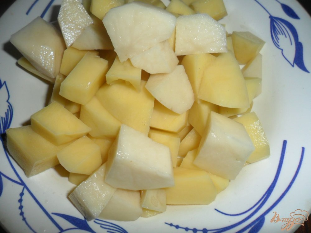 Фото приготовление рецепта: Суп харчо по украински шаг №5