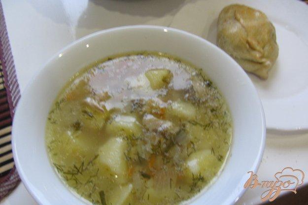 Рецепт Суп куриный с перловкой без за жарки