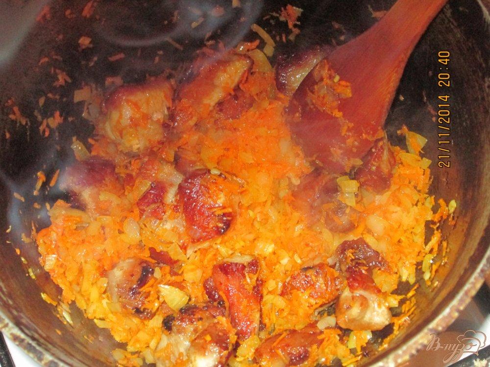 Фото приготовление рецепта: Плов из свинины шаг №3