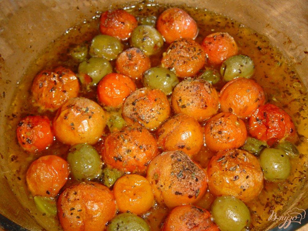 Фото приготовление рецепта: Рыба по итальянски, запеченная с томатами, оливками и каперсами шаг №2