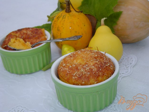 Рецепт Тыквенная запеканка с миндалем (Uova zuccate)