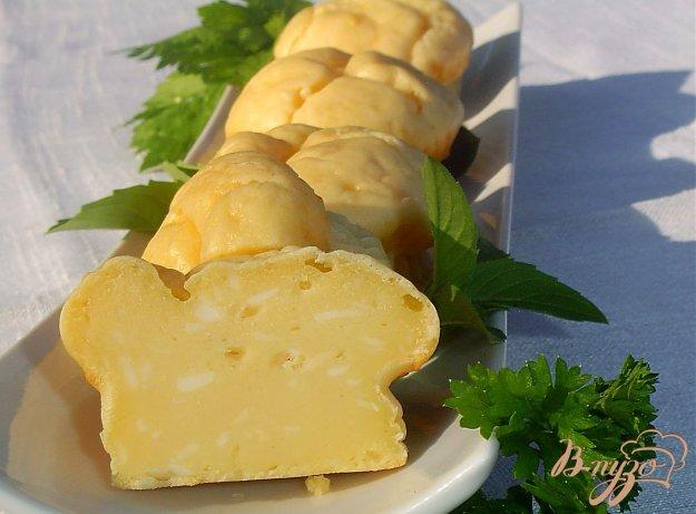 Рецепт Быстрые сырные кексы