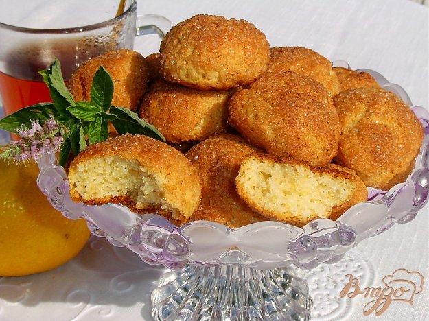 Рецепт Быстрое печенье в корично-сахарной панировке