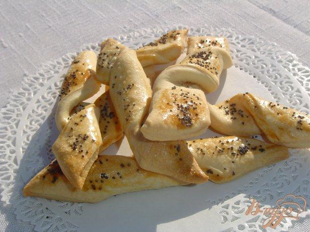 Рецепт Соленое печенье с маком