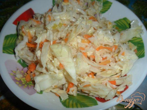 Рецепт Быстрая маринованная капуста