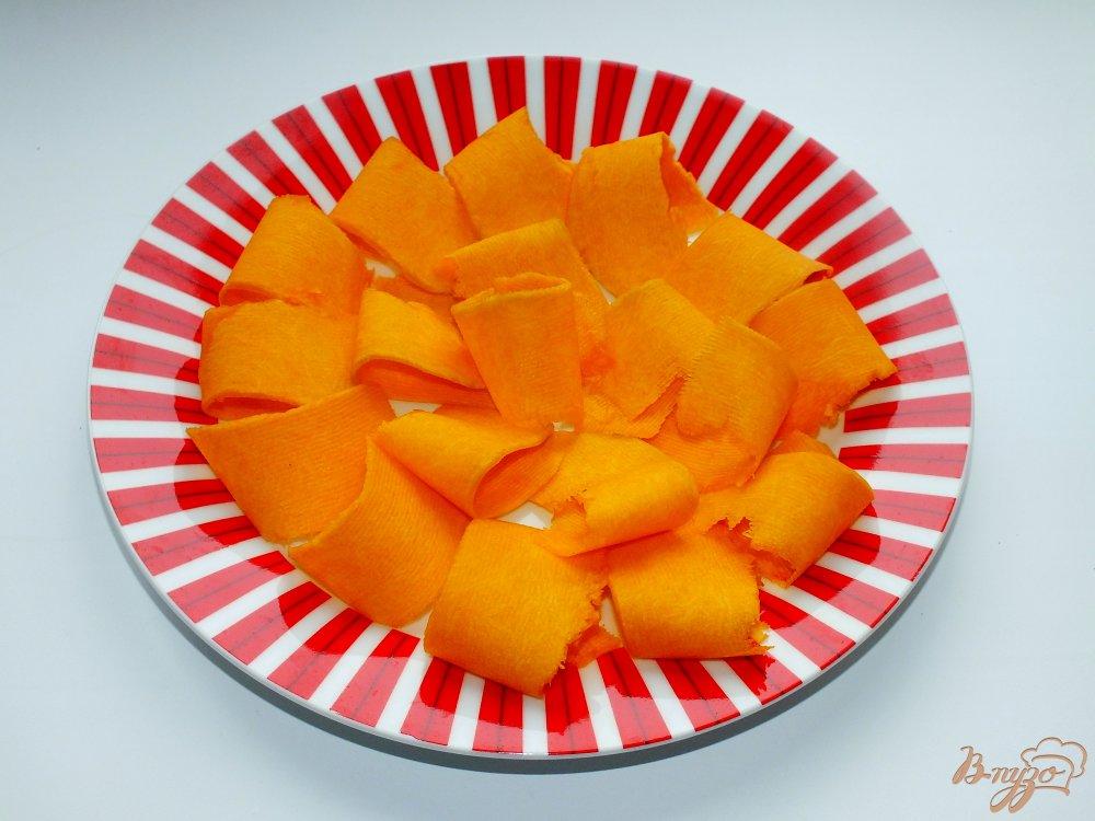 Фото приготовление рецепта: Тыквенный салат с петрушкой шаг №1