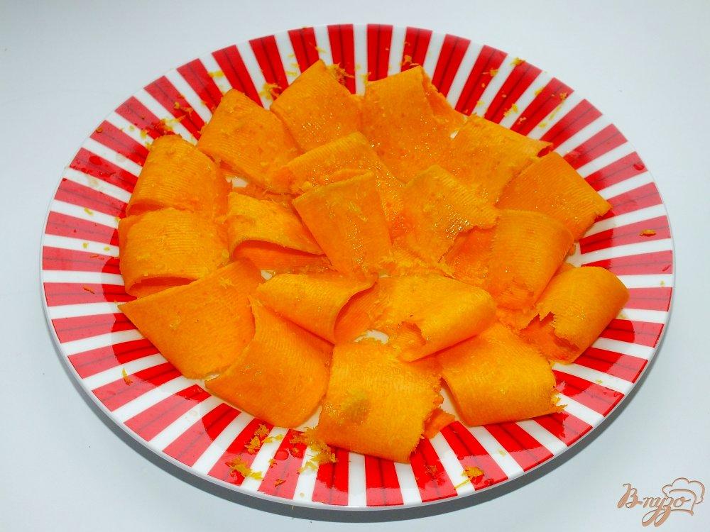 Фото приготовление рецепта: Тыквенный салат с петрушкой шаг №2