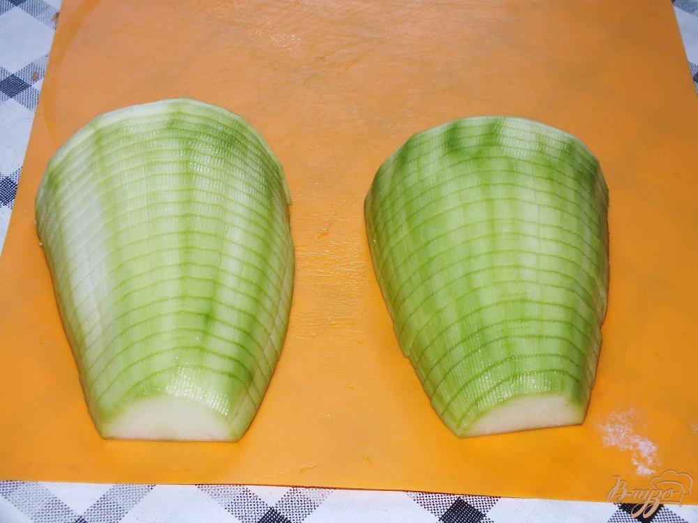Фото приготовление рецепта: Запеченный картофель с кабачком шаг №1