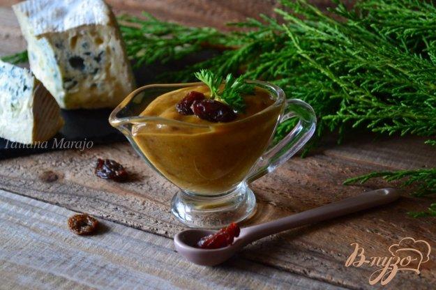 Рецепт Горчичный соус с изюмом