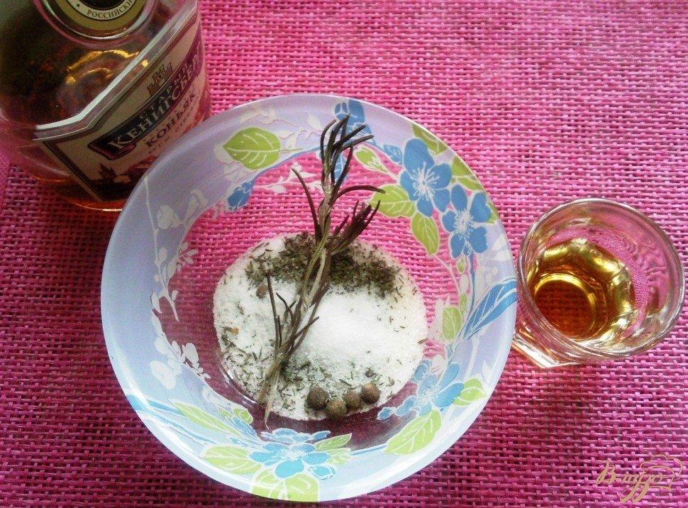 Фото приготовление рецепта: Вяленая утиная грудка шаг №1