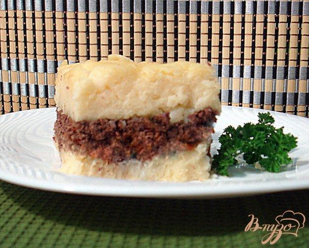 Рецепт Картофельная запеканка с печенью