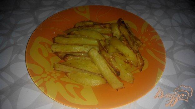 Рецепт Ароматный картофель фри духовке