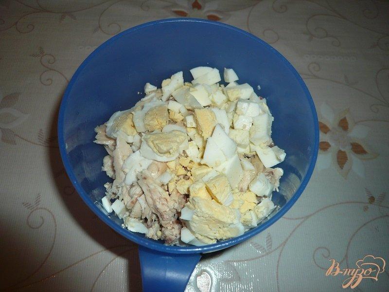 Фото приготовление рецепта: Салат с красной фасолью шаг №3