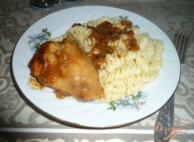 Рецепт Курица в остро-сладком соусе