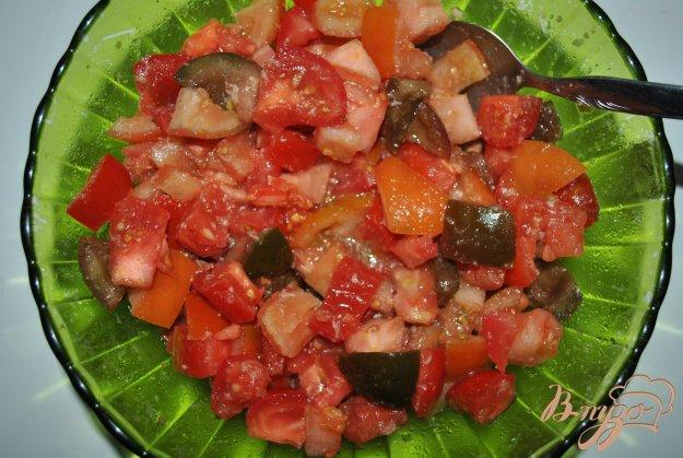 Рецепт Салат из помидоров с хреном