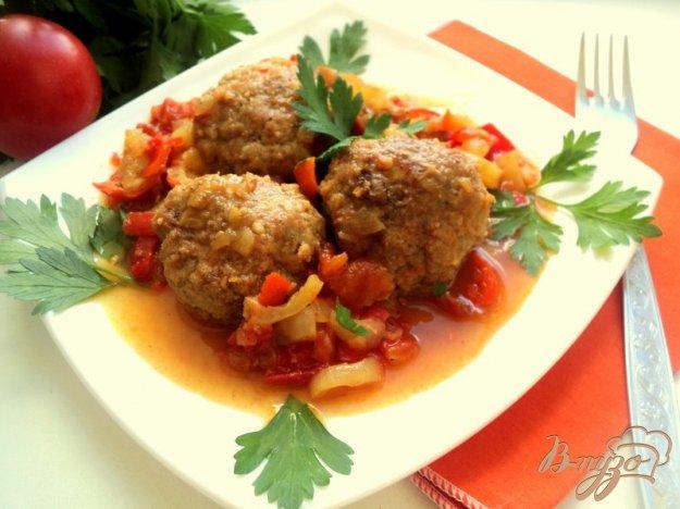 Рецепт Тефтели в соусе с овощами