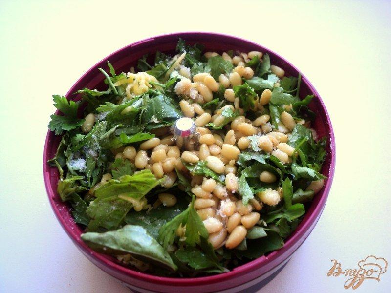 Фото приготовление рецепта: Картофельный салат с соусом песто шаг №1